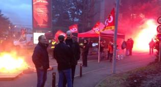 Echanges tendus autour de la Maison des syndicats