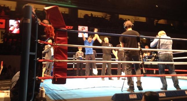 Boxe française : Jerry Bart, champion de France Elite A