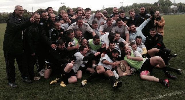 Le RCA Cergy-Pontoise champion !